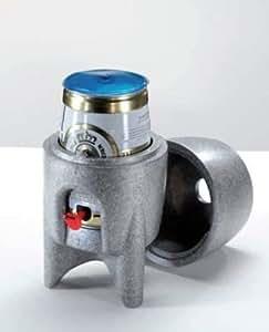 Bierfasskühler – 5 Liter Fasskühler als Geschenk für Grillparties, Top Geschenkidee, Männerabende, WM Public Viewing. Als Geburtstagsgeschenk oder Weihnachtsgeschenk