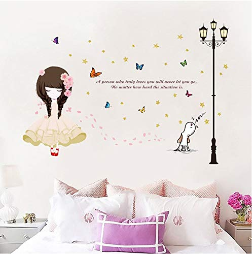 Bllower Girl Wall Sticker dritte Generation abnehmbare Wand mit PVC transparente Folie - Girls Generation-karten