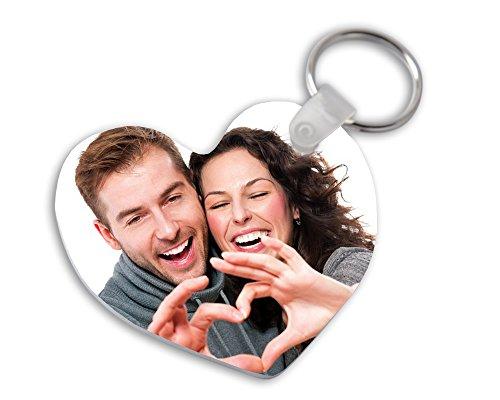 Llavero metacrilato Forma corazón Personalizado tu