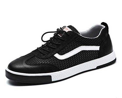 Hommes Mesh Chaussures Plates 2018 Été Nouveau En Cuir Trainers Respirant Casual Chaussures Mode Mocassin