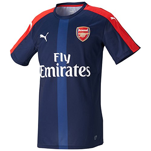 Puma Herren T-shirt AFC Stadium Jersey EPL-Sales Version, high risk red-peacoat, XL, 749757 02 (Shirt Arsenal Training)