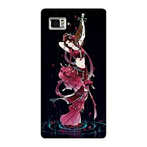 Gorgeous Princess Pose Back Case Cover for Vibe Z2 Pro K920