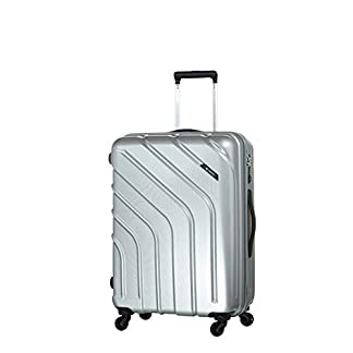 Carlton Stellar Wheel Aboard Trolley Case – Maleta  unisex adulto plateado plata Carry On