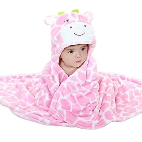 Couverture bébé Peignoir avec capuche et motif animal serviette à capuche pour 0–6ans–Très Chic mai Landa