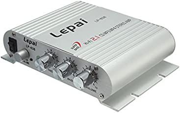 HITSAN INCORPORATION Lepy Lepai LP-838 Super Bass Hi-Fi 2.1 Stereo Amplifier for AMP PC Car Home Play