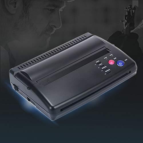 BIOMASER® Tattoo Transfer Thermal Stencil Tattoo Maschine Thermo Drucker Printer Kopierer Thermodrucker für Temporäre Tattoos Tätowierung