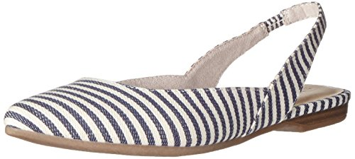 Tamaris 29406, Sandales Bout Ouvert Femme Multicolore (Navy Stripes 874)