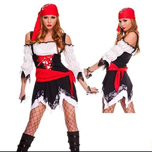 Butterfly BB Europäische und amerikanische Halloween Party Kostüme Cosplay Piraten Kostüm Nacht Cosplay Kostüme - Krieger Kleidung Tragen