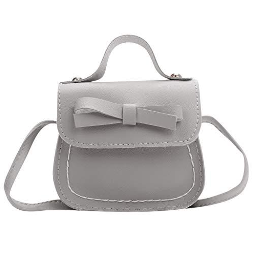 WHSHINE Mode Kindertasche Bauchtasche Child Crossbody Fashion Bow Umhängetasche Brusttasche Handtasche Gross Leicht Kind Umhängetasche Geldbörse (Bow Damen-geldbörse)