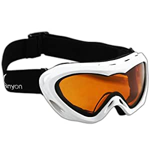 Black Canyon Womens Ski Goggles - White
