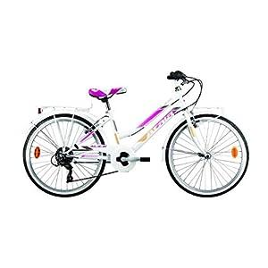 41yU%2ByYYnsL. SS300 Atala Bicicletta da Bambina Modello 2020 City Bike Alice 6V 24 Pollici Colore Bianco
