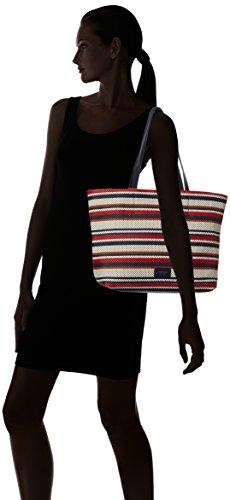 Fiorelli Damen Tate Tasche, Einheitsgröße Multicolour (french Navy Weave)
