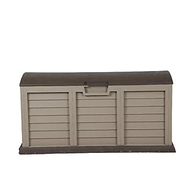 H.G. 00-811-MARON Kissenbox XXL aus hochwertigem, unverwüstlichem Kunststoff, 61,5 x 141,5 x 68 cm, maron von H.G. bei Du und dein Garten