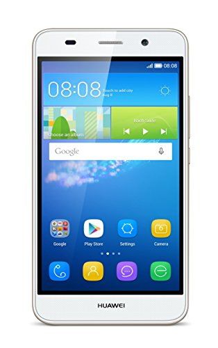 Huawei Y6 Smartphone (5 Zoll (12,7 cm) Touch-Display, 8 GB interner Speicher, Android 5.1) weiß