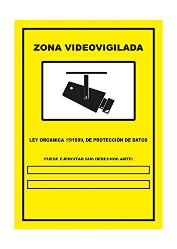 S21 Señalización C-005 Señal Zona Video vigilada, Multicolor