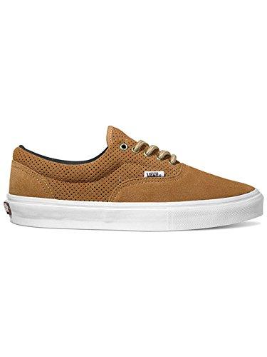 Zapatillas Vans Skate Hombre Era Pro Skateshoes, (perforado) Tabaco, 12 (perforado) Tabaco