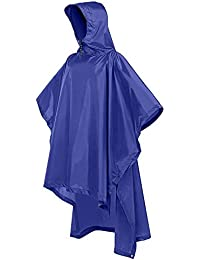 Terra Hiker Multi-Functional Rain Poncho, Sunshade Tarp, Ground Mat for Outdoor Activities