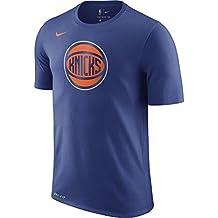 Nike NBA New York Knicks Kristaps Porzingis 2017 2018 Dry Logo Official, Camiseta de Hombre