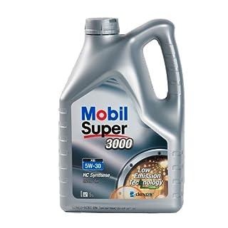 Mobil 1 150944 Leichtlaufmotorenöl Super 3000 XE 5W-30, 5 Liter