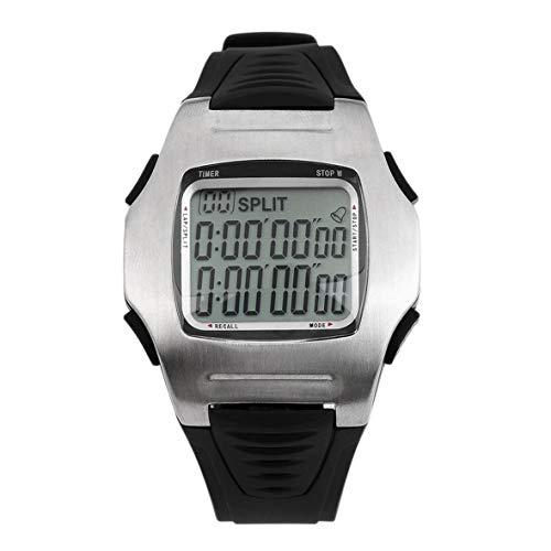Heaviesk Schiedsrichter-Uhr Fussball-Schiedsrichter-Uhren Stoppuhr Timer Chronograph Countdown Football Club Herrenuhr (Fußball-countdown-uhr)