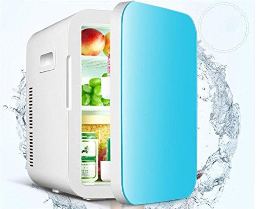 XW 20L Dual-Core-Auto-Kühlschrank Mini-Mini-Kühlschrank Auto Haus Dual-Use-Kälte-Quartale Warme Und Kalte Box , Blue,blue