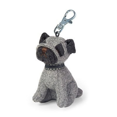 Dora Designs Puggles Pug Key Ring produced by Dora Designs - quick delivery from UK.