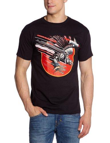 Collectors Mine - Camiseta de Judas Priest con cuello redondo de manga corta para hombre, talla 2XL, color negro