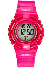 Zoop Digital Natural Dial Children's Watch -NKC4040PP01