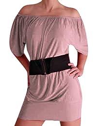 EyeCatch TM - Aufregendes und Schulterfreies Mini Kleid