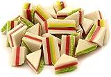 8 x MyTinyWorld Dolls House Miniature White Filled Sandwiches