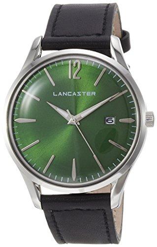 """Lancaster Paris """"Heritage"""" reloj de pulsera verde hombre"""
