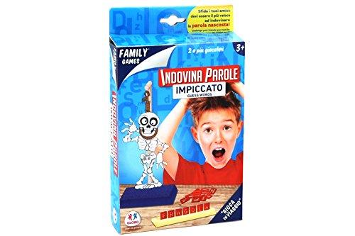 Globo Toys Globo–3463018cm Hangman Familie Spiel