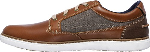 Skechers Lanson-Reldon, Baskets Homme Marron (Light Tan)