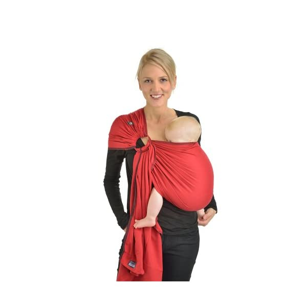 Hoppediz Paris Ring Sling Hoppediz Suitable from birth until parent or child chooses to stop carrying 100% Cotton Special broken twill weave 1