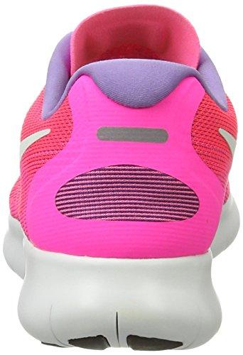 Nike Free Run 2017, Scarpe Running Donna Rosa (Racer Pink/off White-pink Blast-brt Mang)