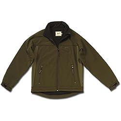 Univers 96190–326, Cárdigan Softshell Tex Hombre, Hombre, 96190-326, Verde Oscuro, XXL