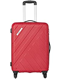 Safari Polycarbonate 66 cms Wine Red Hardsided Suitcases (HARBOUR 4W 65)