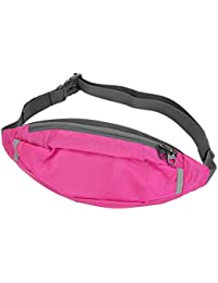 Running Waist Bag, 5 Colors Security Sports Bag Outdoor Travel Running Waist Packs For Workout Vacation Hiking...