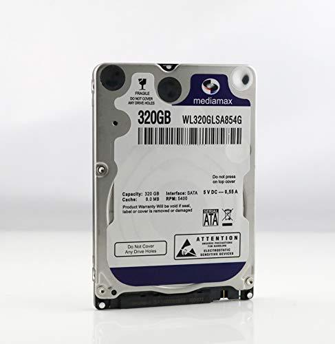 200 Gb Sata-festplatte (Mediamax 320GB interne Festplatte 2.5