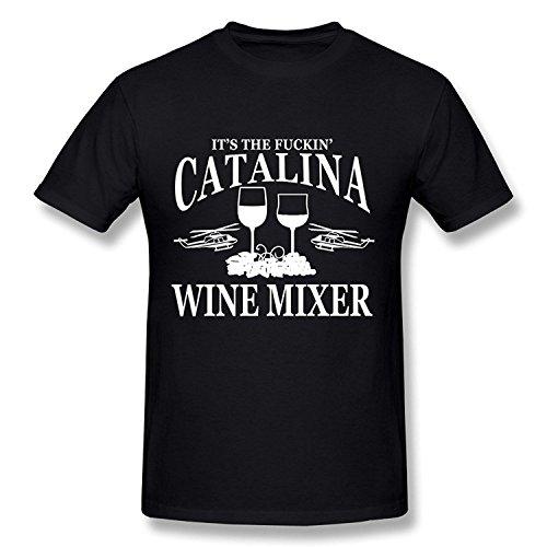 Men's It's The Fuckin' Catalina Wine Mixer T-shirtYILIAX11741Small