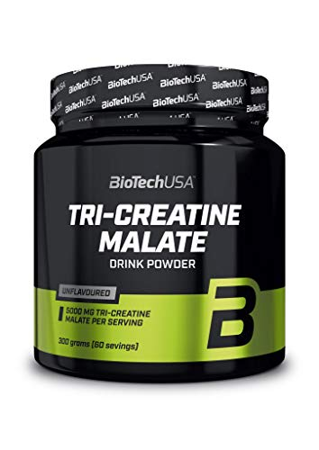 Biotech USA - Tri Creatin Malat 300g Dose (5er Pack)