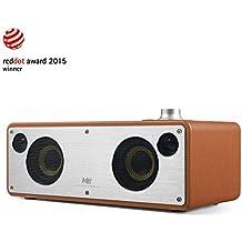 Altoparlante senza Fili, GGMM M3 Retro Wi-Fi / Bluetooth Speaker Stereo con Uscita 40W, Multi-Room Play, Airplay, DLNA, Spotify, iHeart Radio | Streaming di Musica i Dispositivi Intelligenti(cammello)