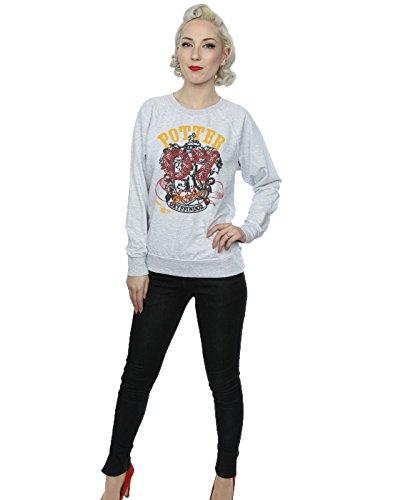 Harry Potter Femme Gryffindor Seeker Sweat-Shirt Heather Gris