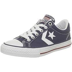 Converse Sp Ev Canvas Ox 290360-34-10 - Zapatillas de tela para niños, color azul, talla 34