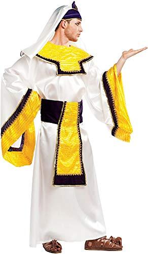 Kostüm Egiziana - Carnevale Venizano CAV5117-XL - Erwachsenenkostüm FARAONE - Größe: XL