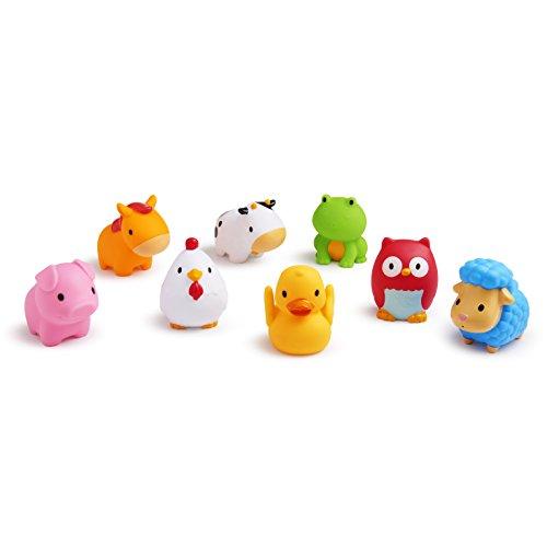 Munchkin Squirtin Bath Toy, Barnyard Friends (Munchkin Bath Bubble)