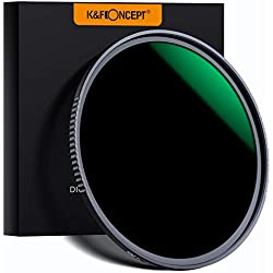 K&F Concept ND1000 77mm Nano-X MRC Filter Gris Neutre HD Super Mince Multicouches Haute-Transmittance pour Canon Nikon