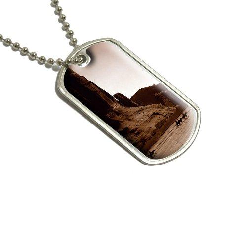 Canyon Schlüssel (Rock Canyon Wild West–Canyon De Chelly Militärische Erkennungsmarke Gepäck Schlüsselanhänger)