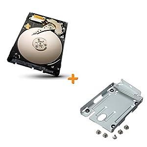 Sony Playstation 3PS3Hard Drive Kit inc Halterung Caddy Wiege mit HDD Super Slim, inkl. Halterung und Externe Festplatte von Sonnics Festplatte 1Jahr Garantie