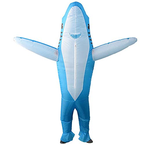 OLLVU Adult Halloween Dolphin Inflatables Show Lustige